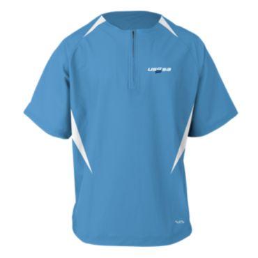 Men's Conference USSSA Short Sleeve Quarter Zip Pullover