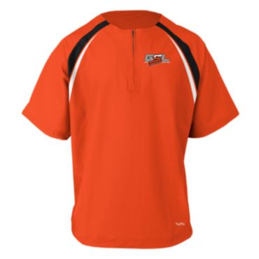 Men's GSL Short Sleeve Quarter Zip Pullover