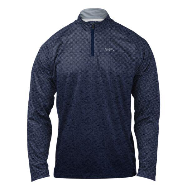 Men's Victory Quarter Zip Pullover Navy/Gray
