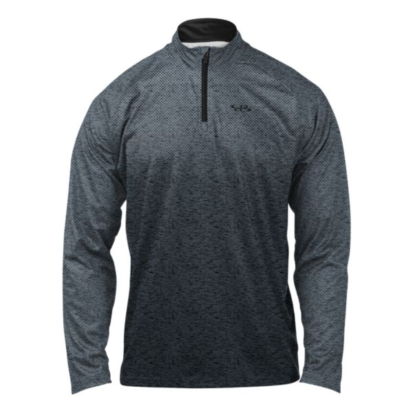 Men's Victory Quarter Zip Pullover Slate/Black/Gray