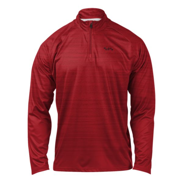 Men's Gamer Quarter Zip Pullover Red