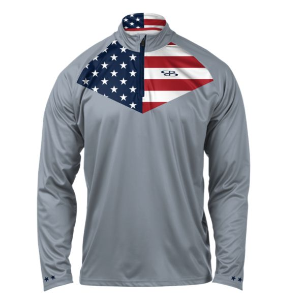 Men's USA Pride Quarter Zip