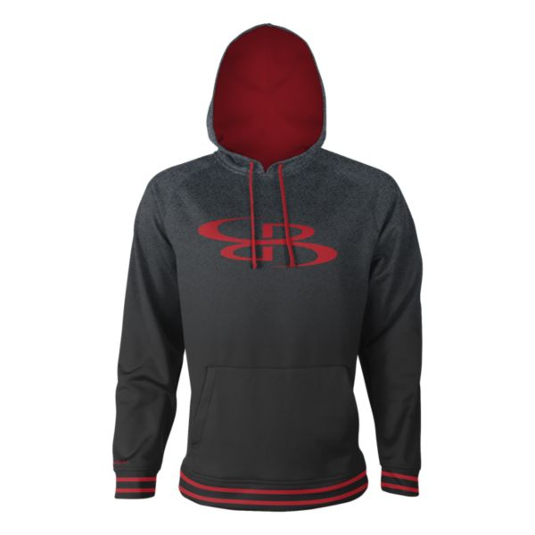 Men's Blaze Hoodie Black/Slate/Red