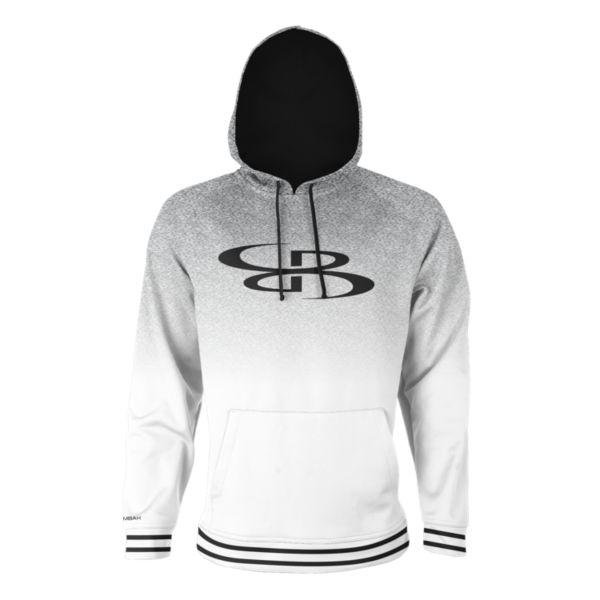 Men's Blaze Hoodie White/Black/Charcoal