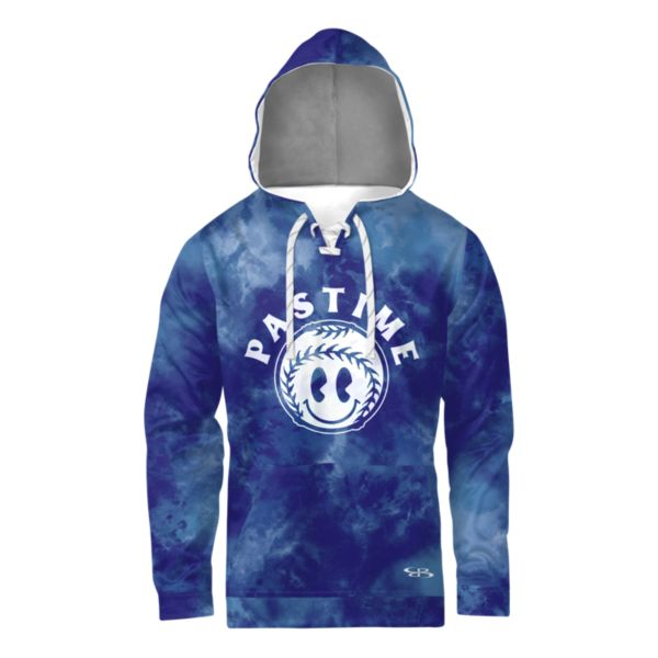 Boombah Youth INK Big League Lace Up Hoodie Royal Blue/White Royal/White