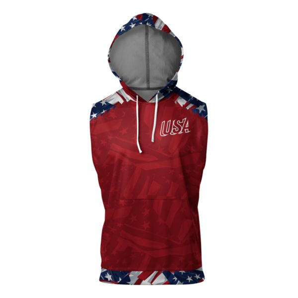 Men's USA Honor Sleeveless Hoodie