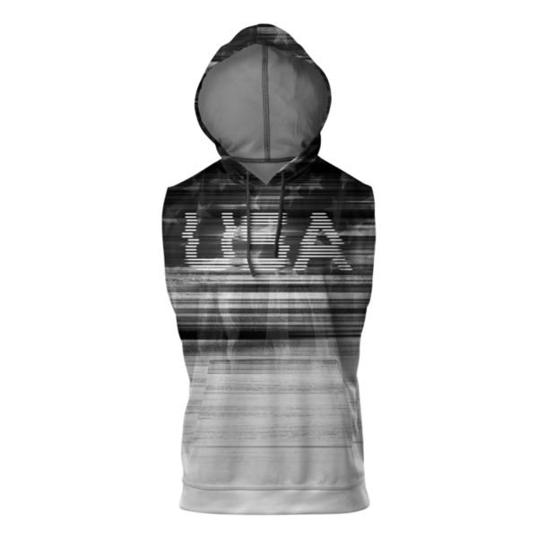 Men's USA Tech Sleeveless Hoodie