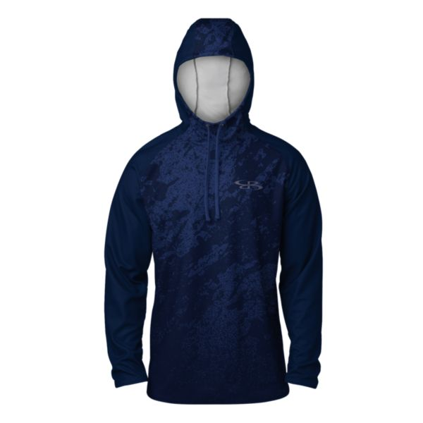 Men's Raider Lightweight Scuba Hoodie Navy/Royal/Black