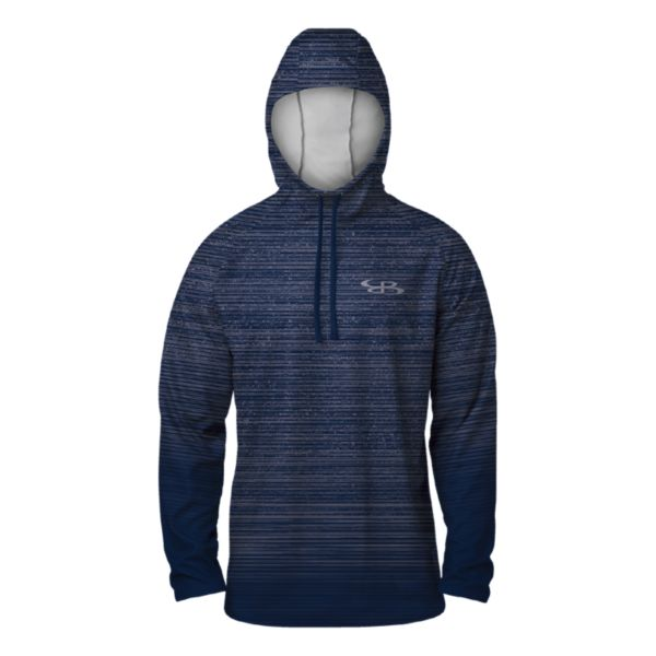 Men's Gamer Lightweight Scuba Hoodie Navy