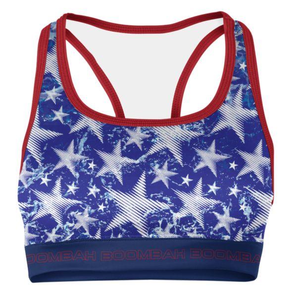 Women's USA Shimmer Sports Bra