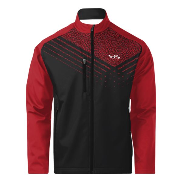 Men's Apex Bonded Fleece Jacket Red/Black