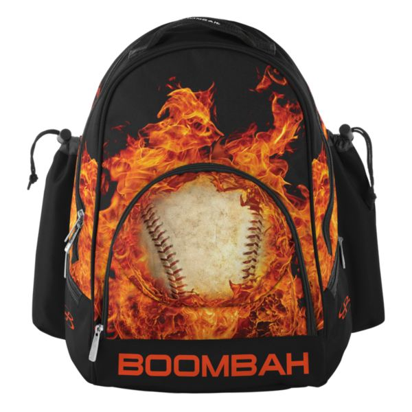 Fire Ball Tyro Bat Bag Black/Flame