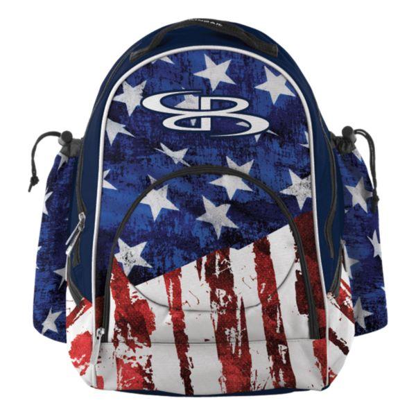 Tyro Bat Pack USA Stars & Stripes Navy/Red/White
