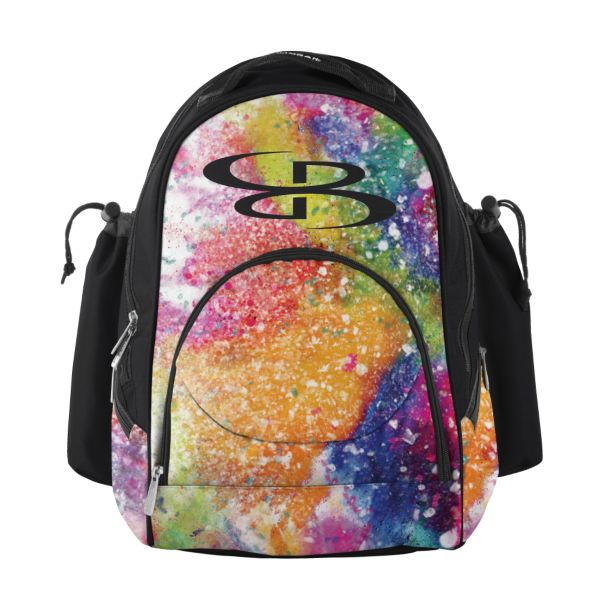 Tyro Bat Pack Rainbow Splatter Multi