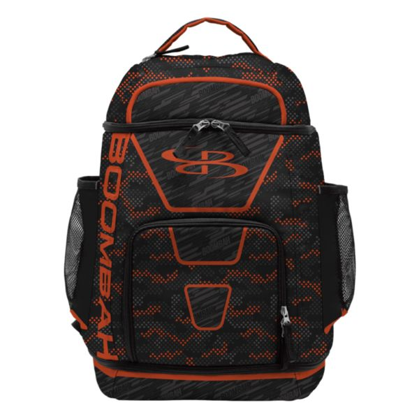 Swish Basketball Backpack Diamondcam Black/Orange