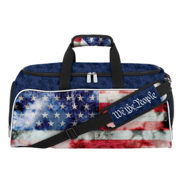 USA Old Glory Medium Duffle Bag Navy/Red/White