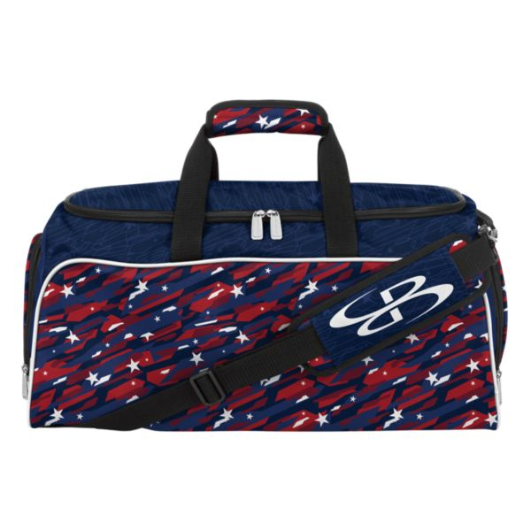 USA Star Spangled Medium Duffle Bag Navy/Red/White