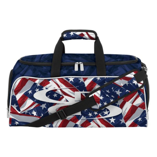 USA Independence Medium Duffle Bag Royal/Red/White