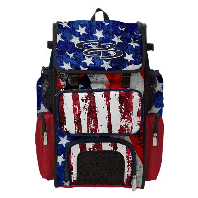 Superpack Usa Stars Stripes Bat Bag