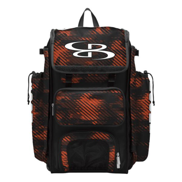 Catcher's Superpack Bat Bag Force Black/Orange