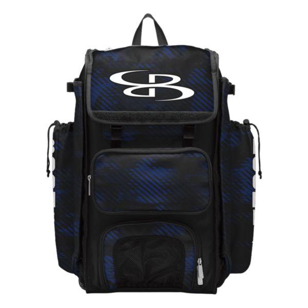 Catcher's Superpack Bat Bag Force Black/Royal