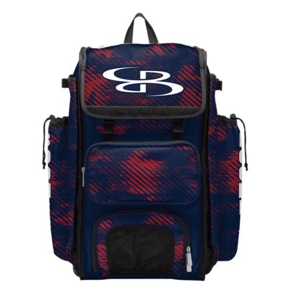 Catcher's Superpack Bat Bag Force Navy/Red