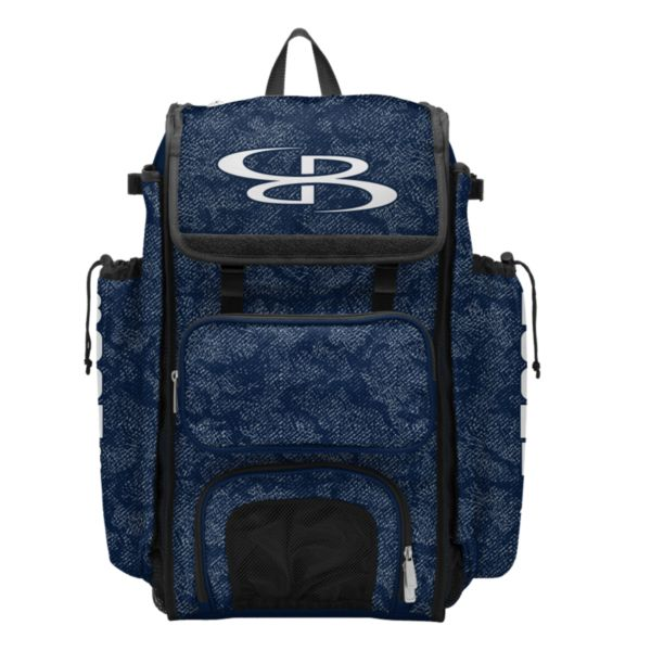 Catcher's Superpack Bat Bag Shadow Navy/Gray