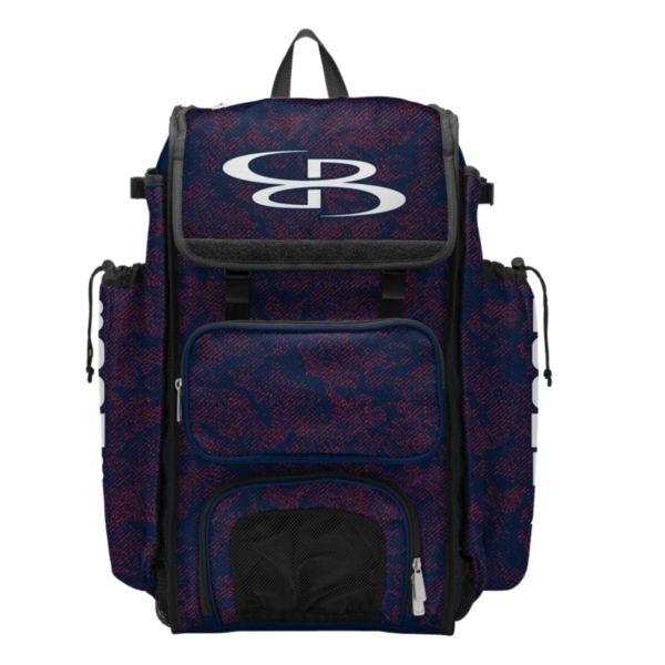 Catcher's Superpack Bat Bag Shadow Navy/Red