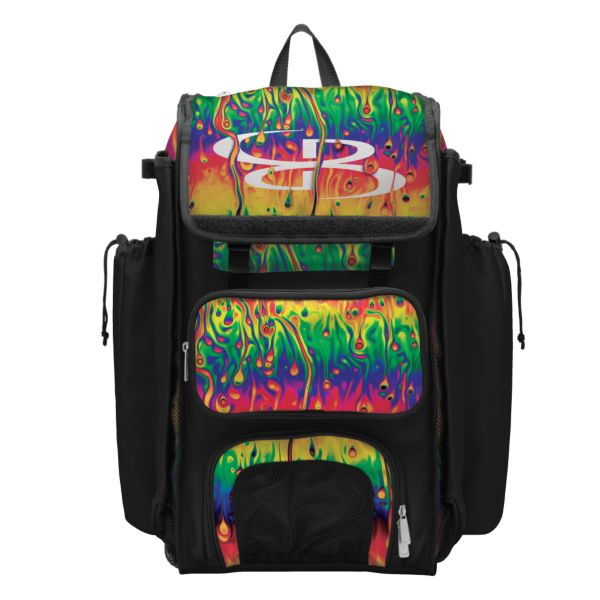 Catcher's Superpack Bat Bag Lava Multi