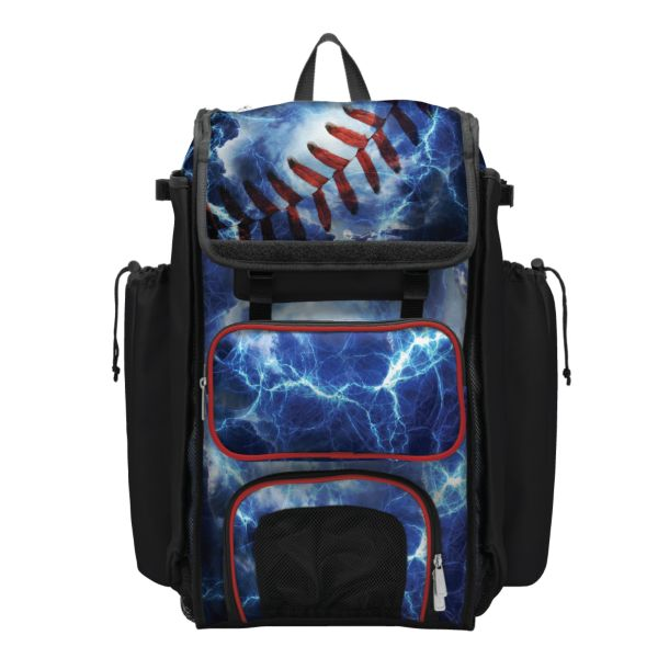 Catcher's Superpack Bat Bag The Natural Black/Red/White