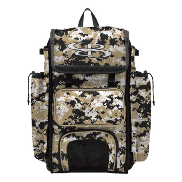 Catcher's Superpack Camo Bat Bag