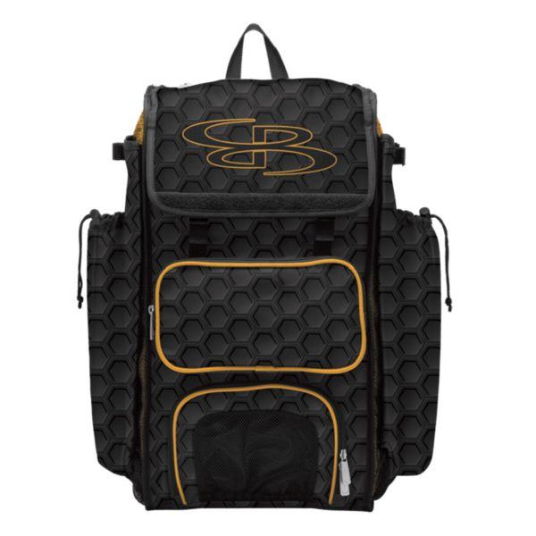 Catcher's Superpack Bat Bag 3DHC Black/Gold
