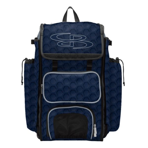 Catcher's Superpack Bat Bag 3DHC Navy/Gray