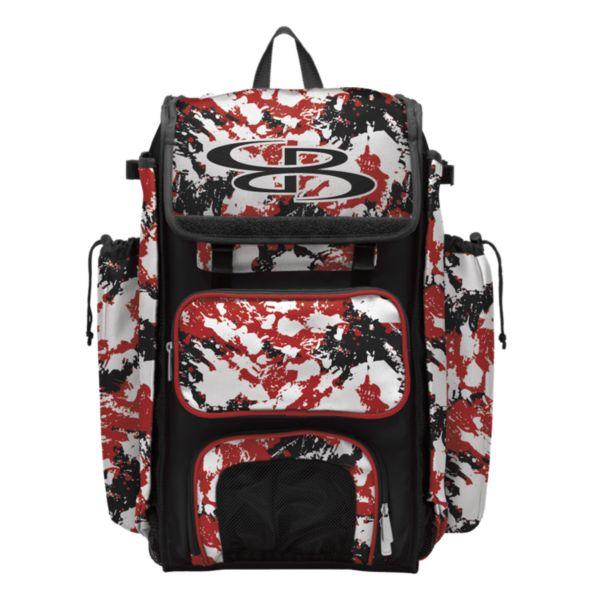 Catcher's Superpack Bat Bag Rocket Red/Black/White