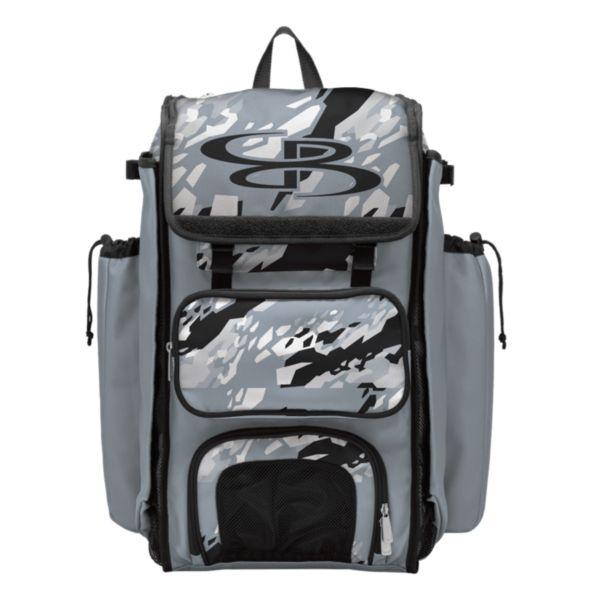 Catcher's Superpack Bat Bag Hexfire Black/Gray/White