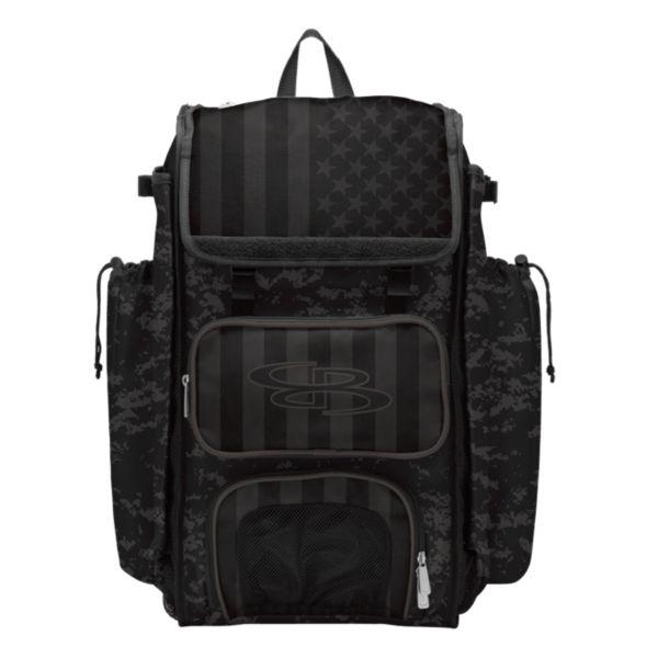 Catcher's Superpack Bat Bag USA Clandestine Black/Dark Charcoal