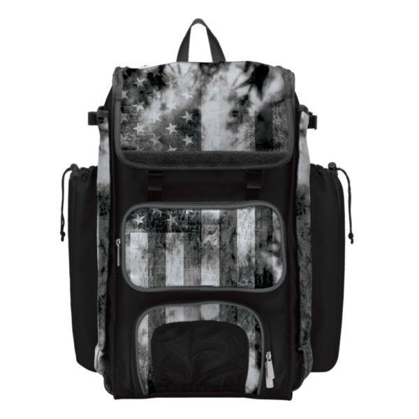 Catcher's Superpack Bat Bag USA Old Glory Black Ops Black/Charcoal/White