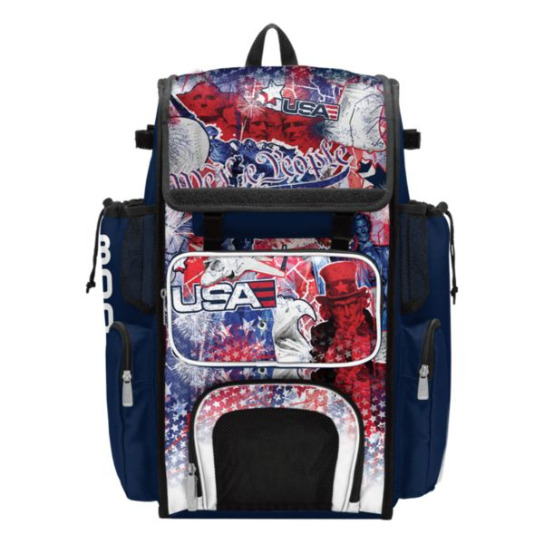 Superpack USA Liberty Bat Bag Navy/White/Red