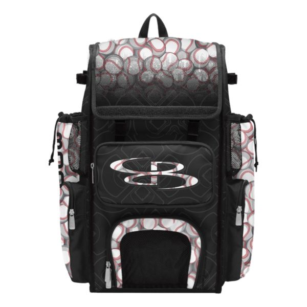 Superpack Baseball 1.0 Bat Bag Black/White/Red