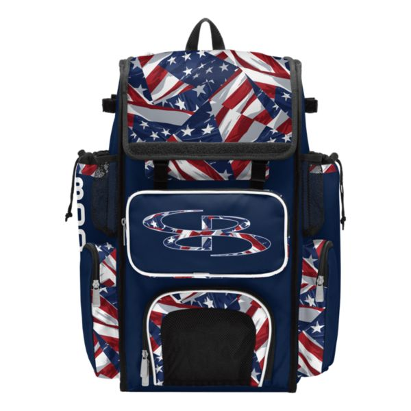 Superpack USA Independence Bat Bag Navy/Red/White