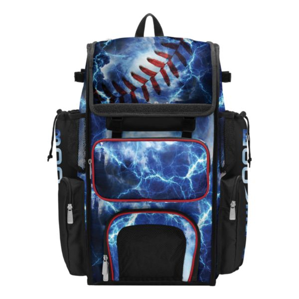 Superpack The Natural Bat Bag Black/Red/White