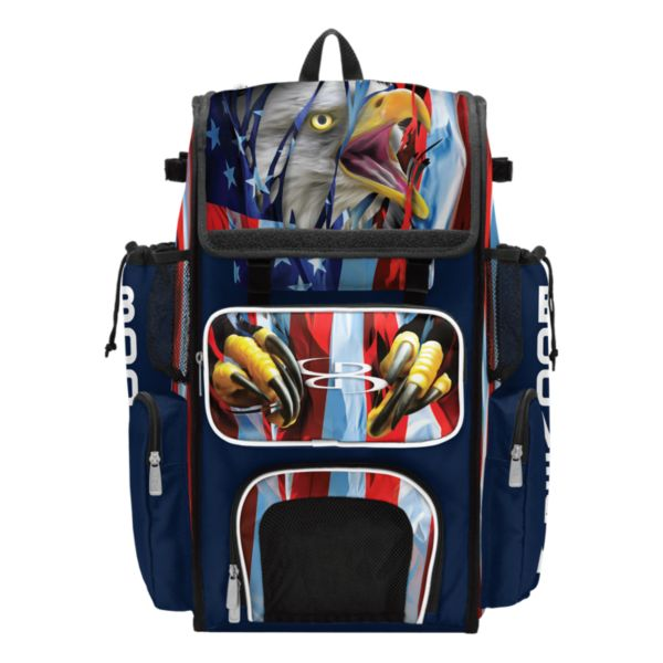 Superpack USA Breakout Bat Bag Navy/White/Red