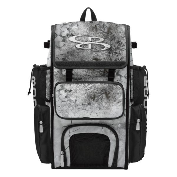 Superpack Crusher Bat Bag Black/Gray