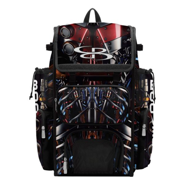 Superpack Bat Pack Cyborg Black/Red/Orange