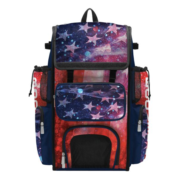 Superpack USA Eternity Bat Bag 2.0 Navy/Red/White
