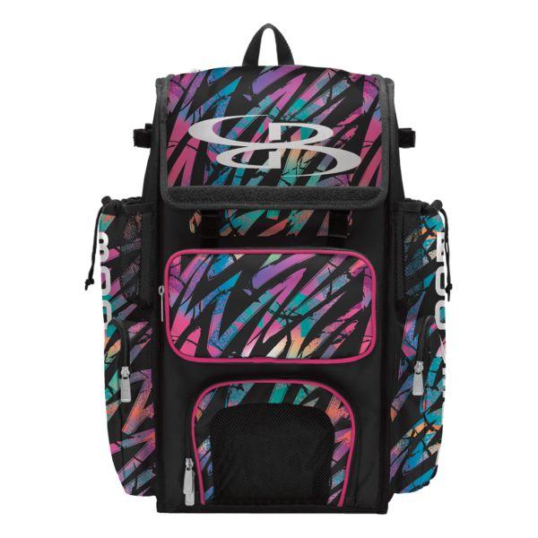 Superpack Rainbow Scratch Bat Bag