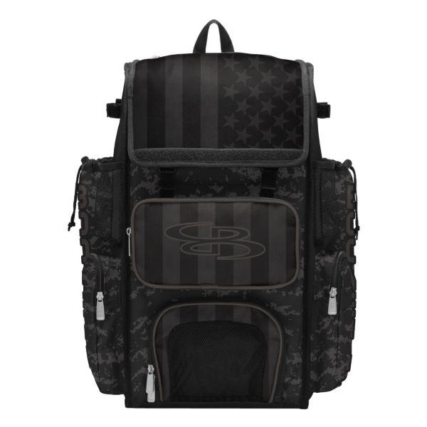 Superpack USA Clandestine Bat Bag 2.0 Black/Dark Charcoal