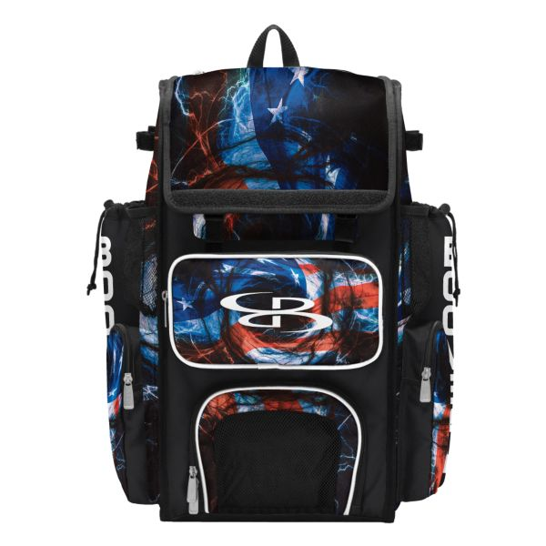 Superpack Bat Bag 2.0 USA Patriot Black/Red/White