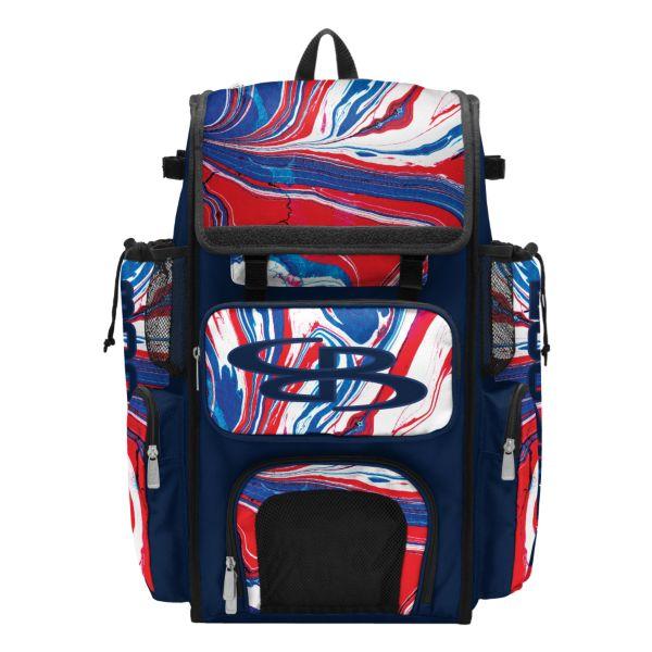Superpack Bat Bag Flow 2.0 Navy/Red/White