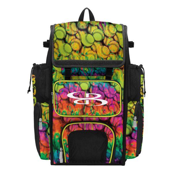 Superpack 2.0 Bat Bag Neon Ballpark Multi